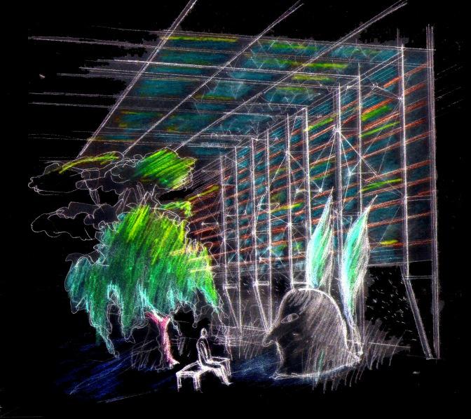 Mirren Fischer thesis image - garden